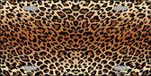 Cheetah Print Background Wholesale Metal Novelty License Plate
