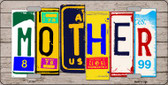 Mother Wood License Plate Art Novelty Wholesale Metal License Plate