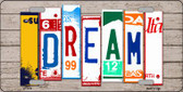 Dream Wood License Plate Art Novelty Wholesale Metal License Plate