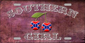Southern Girl Novelty Wholesale Metal License Plate