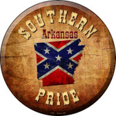 Southern Pride Arkansas Wholesale Novelty Metal Circular Sign