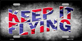 Keep It Flying Novelty Wholesale Metal License Plate LP-8000