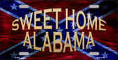 Sweet Home Alabama Novelty Wholesale Metal License Plate