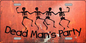 Dead Man's Party Novelty Wholesale Metal License Plate