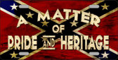 Matter Of Pride Novelty Wholesale Metal License Plate