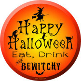 Happy Halloween Wholesale Novelty Metal Circular Sign