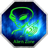 Alien Zone Wholesale Metal Novelty Stop Sign