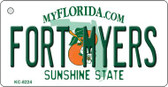 Fort Meyers Florida Wholesale Novelty Key Chain