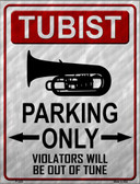 Tubaist Parking Wholesale Metal Novelty Parking Sign