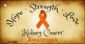 Kidney Cancer Ribbon Wholesale Novelty Key Chain