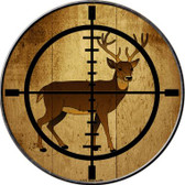 Deer Hunter Wholesale Novelty Metal Circular Sign