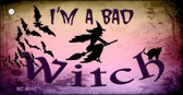 Im A Bad Witch Wholesale Novelty Key Chain