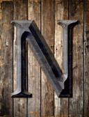 Letter N Wholesale Novelty Metal Parking Sign