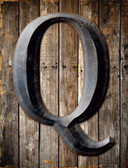 Letter Q Wholesale Novelty Metal Parking Sign