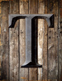 Letter T Wholesale Metal Novelty Parking Sign P-1284