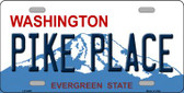 Pike Place Washington Wholesale Metal Novelty License Plate