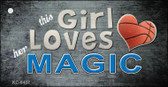 This Girl Loves Her Magic Wholesale Novelty Key Chain
