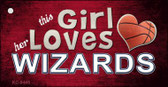 This Girl Loves Her Wizards Wholesale Novelty Key Chain