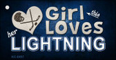 This Girl Loves Her Lightning Wholesale Novelty Key Chain