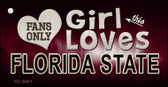 This Girl Loves Florida State Wholesale Novelty Key Chain