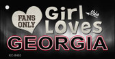 This Girl Loves Georgia Wholesale Novelty Key Chain