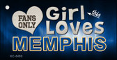 This Girl Loves Memphis Wholesale Novelty Key Chain