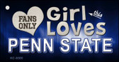 This Girl Loves Penn State Wholesale Novelty Key Chain