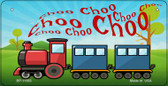 Choo Choo Wholesale Metal Bicycle License Plate