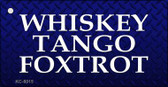 Whiskey Tango Foxtrot Wholesale Novelty Key Chain