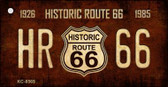 Historic Route 66 Vintage Wholesale Novelty Key Chain