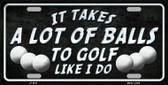 A Lot Of Balls Wholesale Metal Novelty License Plate