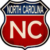 North Carolina Wholesale Metal Novelty Highway Shield