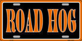 Road Hog Wholesale Metal Novelty License Plate