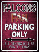 Falcons Wholesale Metal Novelty Parking Sign