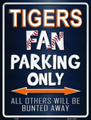 Tigers Wholesale Metal Novelty Parking Sign