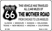 Route 66 Mother Road Wholesale Novelty Metal Magnet