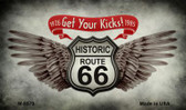 Get Your Kicks Wholesale Novelty Metal Magnet