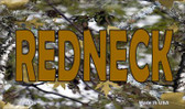 Redneck Camo Wholesale Novelty Metal Magnet