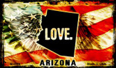 Love Arizona Wholesale Novelty Metal Magnet