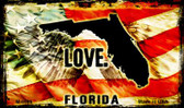 Love Florida Wholesale Novelty Metal Magnet