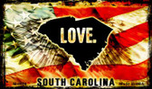 Love South Carolina Wholesale Novelty Metal Magnet