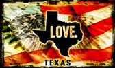 Love Texas Wholesale Novelty Metal Magnet
