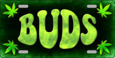 Buds Wholesale Metal Novelty License Plate