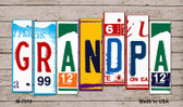 Grandpa License Plate Art Wholesale Novelty Metal Magnet