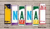 Nana License Plate Art Wholesale Novelty Metal Magnet