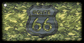 Route 66 Camouflage Wholesale Novelty Key Chain