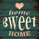 Home Sweet Home Wholesale Novelty Metal Square Sign