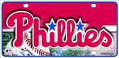 Phillies Novelty Wholesale Metal License Plate