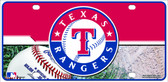 Rangers Novelty Wholesale Metal License Plate