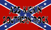Ass Kickin Southern Rock Wholesale Novelty Metal Magnet